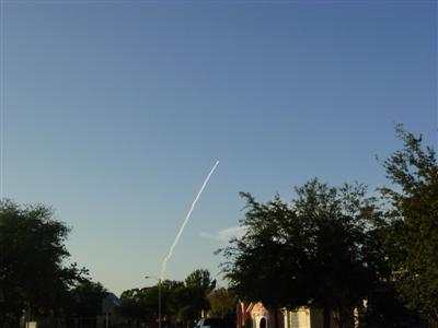 Launch of space shuttle Atlantis on 6/8/07