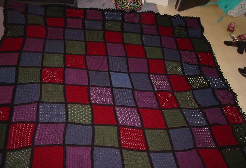 63+ squares afghan
