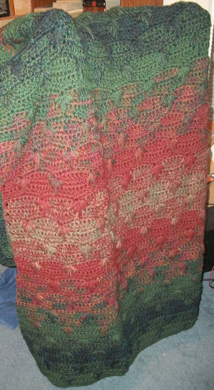 Autumn Leaves afghan