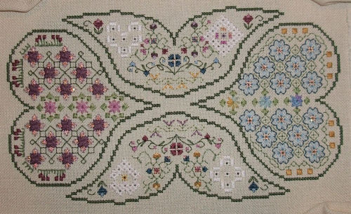 Around the World in 80 Stitches - Papillon Creations - part 2