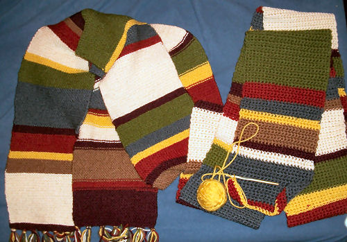 Doctor Who Season 12 scarves