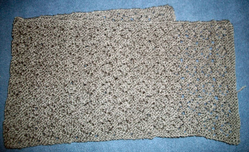 Simple Elegance lace scarf