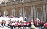 Bands in St. Peter's Square
