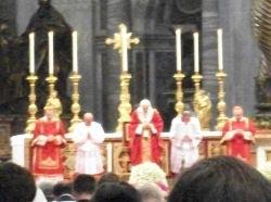 B16 at Pallium Mass