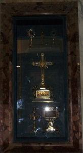 Relics at Santa Croce