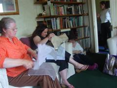 Pat, Allie, and Paula