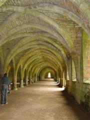 Cellarium at Fountains Abbey