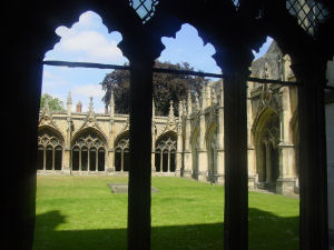Cloister at Canterbury Cathedral