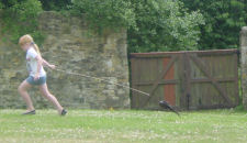 Stunt partridge!