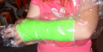 Lime Green cast!