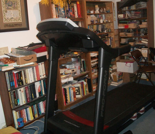 Kryten the treadmill