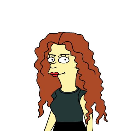 Simpsonized Belinda
