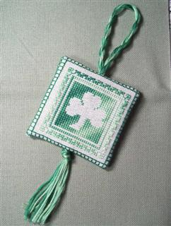 Shamrock, as stitched by Abi